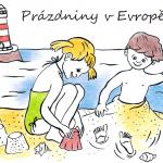 Prázdniny vEvropě – omalovánky